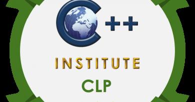C++ Institute: Advanced programming in C(CLP)